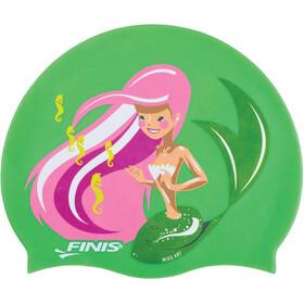 FINIS Mermaid Bonnet De Bain En Silicone Fille, seahorse